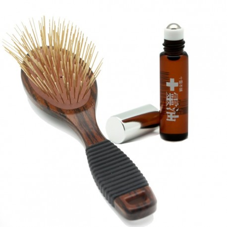 Golden Titanium Massage Hair Brush 黃金筋絡調理梳